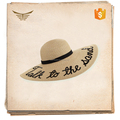 High quality factory custom sequin embroidery design floppy hat
