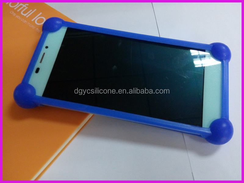 Eco-friendly custom Fashional silicone mobile phone cover/case