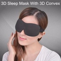 2017 Spring New Design Breathable Natural Sleep Mask 3d Eye Mask