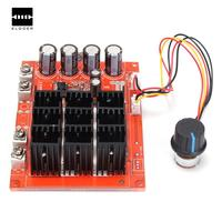 Best Price DC 10~50V 60A PWM Motor Speed Controller Control 12V 24V 48V 3000W Driver Module Newest Electronics Stocks
