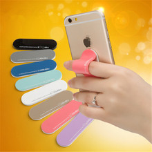 2017 Multi Band One Hand Finger Grip Mobile Phone Car Holder with finger ring holder