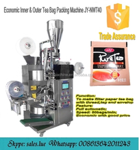 Full automatic tea packaging machine with tag, thread and envelop