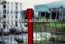 Steel tubular pool fence
