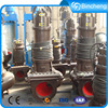 Industrial electric submersible waste water sewage pumps