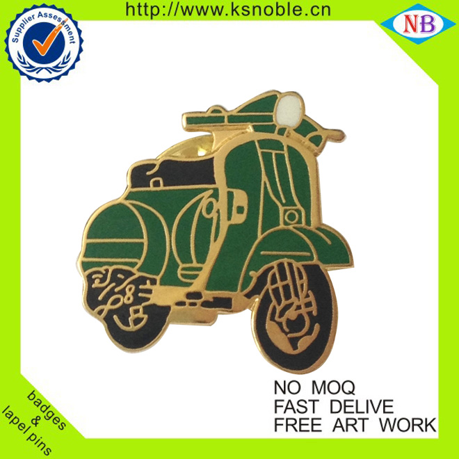 Customized motorcycle lapel pins manufacturers china