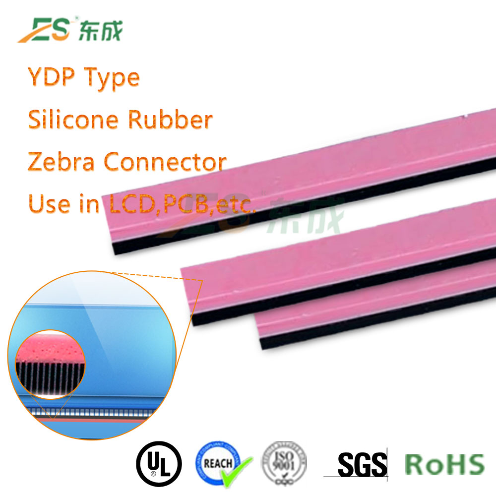 LED Silicone Strip Zebra Silicone Connectors Electrical Conductive Rubber