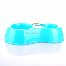 Factory supply cheap pet bowls for food and water silicone dog feeder with lid