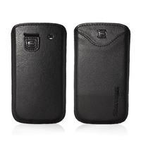 Snugg case for Samsung Galaxy S3 Pouch Case in Black PU Leather