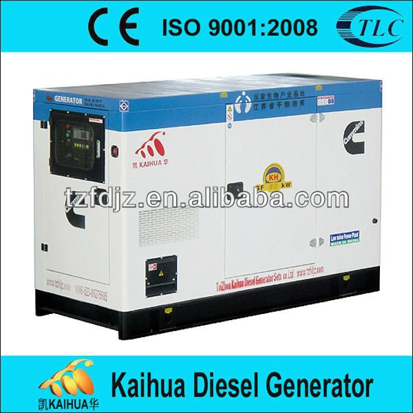 Moscow 22KVA Powered by Perkins Silent Type Diesel Generator Set