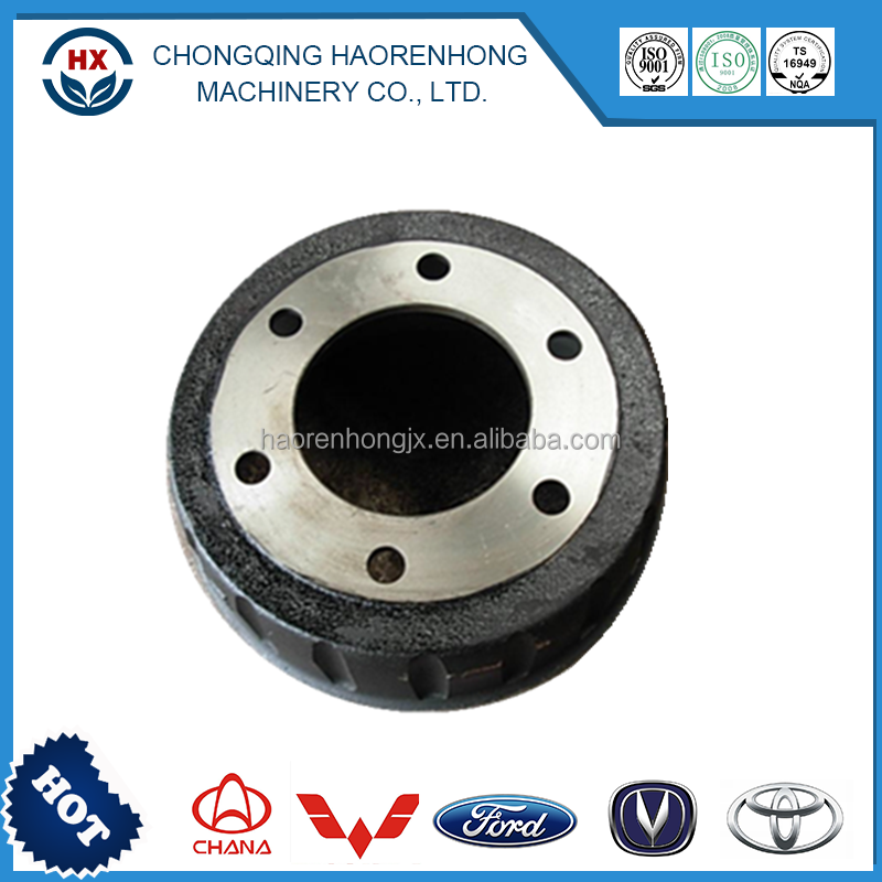 Customized precision kenworth brake drum for F2HZ-1125-B Front Axle