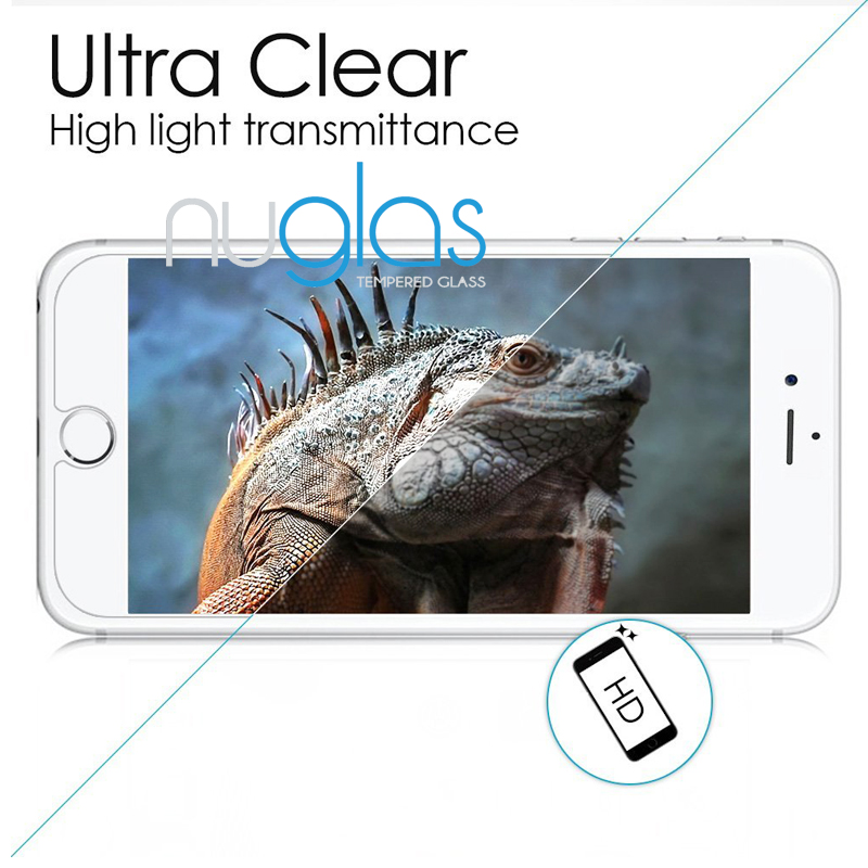 Remove air bubbles nano slim tempered glass screen protector for iPhone 7