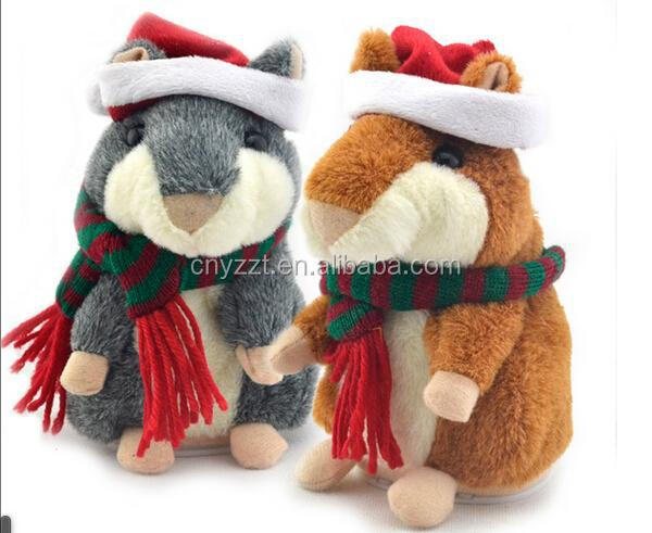 plush hamster toy/BAB Talking Hamster Plush Toy X Hamster Animals/x hamster animals with recorder