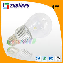 e27 G60 led bulb 4w cob sharp with remote control