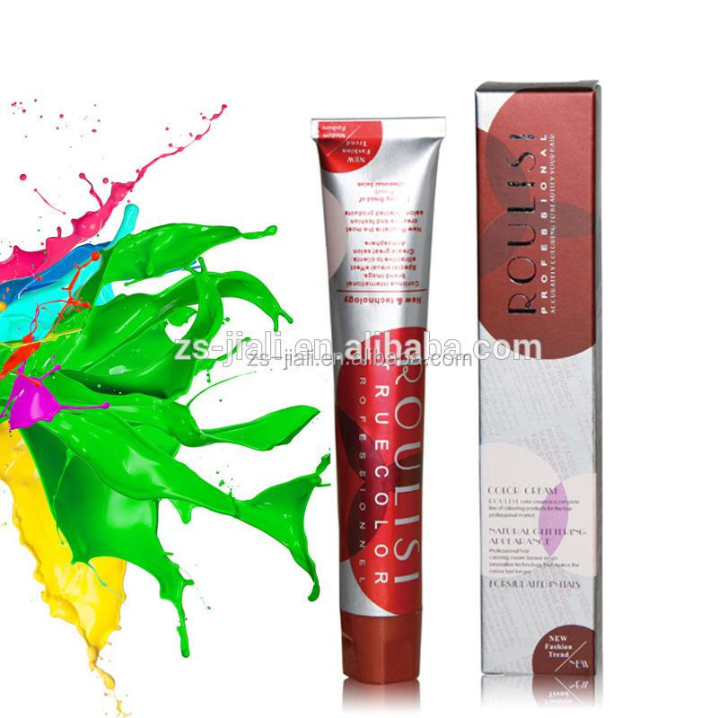 PPD free Hair Color Dyeing cream ammonia free salon hair color brands in hair dye