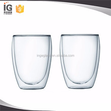 Glass Mugs Double Walled / Beer Glass Double Wall / Glass Tea Cup