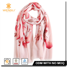 Hangzhou Wensli New Printing Infinity Custom Indian Wool Shawls And Scarfs
