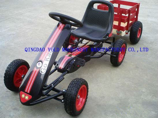 cheap pedal go karts with trailer