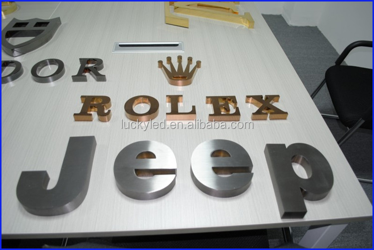 Led acrylic small 3d cheap large plastic letters and for Small plastic letters for signs