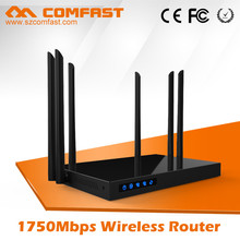 2016 New Wireless Products For COMFAST CF-WR650AC 1750Mbps 802.11ac Wireless Wifi Internet AC Router with DD WRT