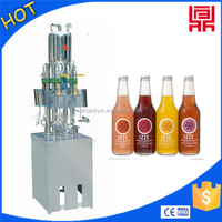carbonated beverage semi automatic isobaric filling machine