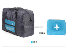 Waterproof nylon flight polyester foldable bag recycle foldable bag