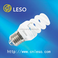 2016 energy saving lamps full spiral 15W T3 compact fluorescent lamps