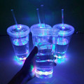 Event item custom logo led disposable light up cups