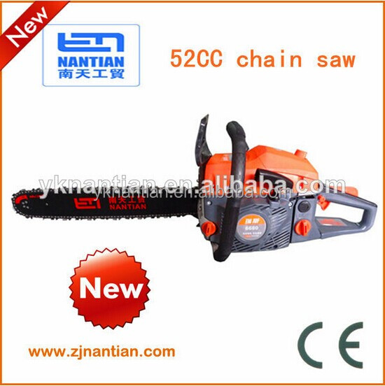 Big Powered 5200 Chainsaw 52CC High Quality Powerful 52cc Gas Chain Saw chinese chainsaw