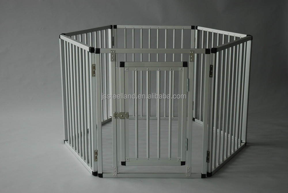 folded various sizes PANELS outdoor pet playpen aluminum pen for dogs