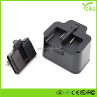 Yaika uk 3 pin plug connector Universal USB Wall Charger AC adapter Mobile Phone usb Charger For Samsung mobile phone