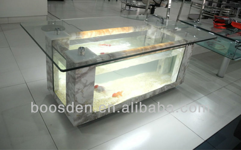 Glass Coffee Table Fish Tank for Sale BSD-354071