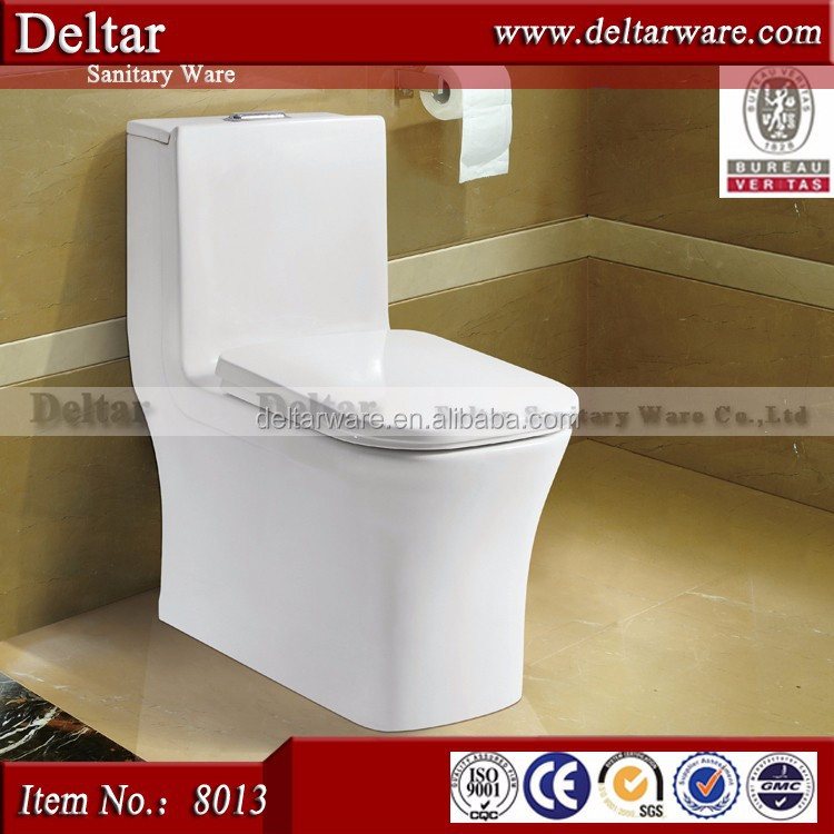 ceramic hotel one piece toilet, guangdong ceramic sanitary ware toilet for old people and pregnant woman