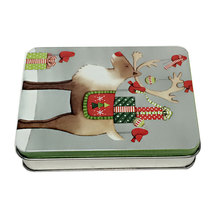 China supplier business card tin box cosmetic packaging box