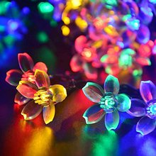 LED Wedding Decoration Cherry Blossom Tree Light 2M crystal Christmas decoration string light