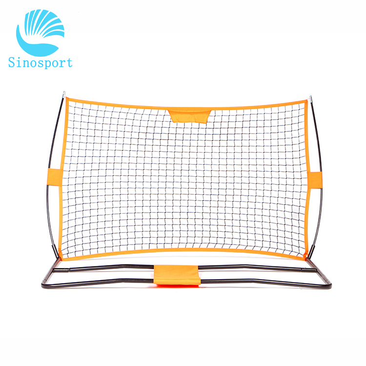 Portable Iron Frame Foldable Soccer Goal For Outdoor Training