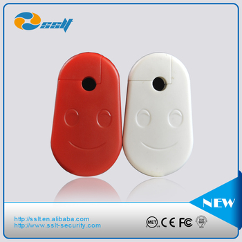 Best Sales Red 4mm/6mm/8mm Display Security EAS Stop Lock/ Hook Stoplock