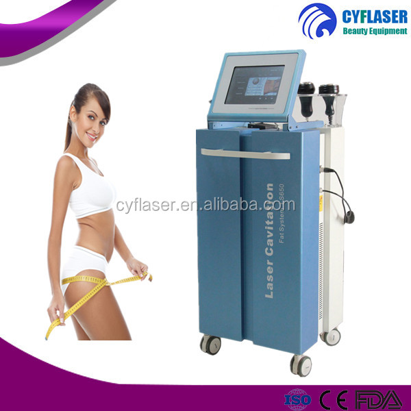 2017Professional best price laser cavitation fat system ls650 cavitation slimming vacuum machine