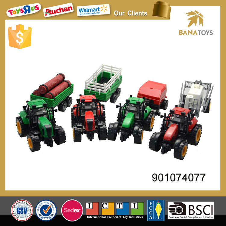 Crazy selling inertia farm tractor toy for kids