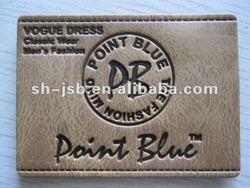 embossed PU label and Tags