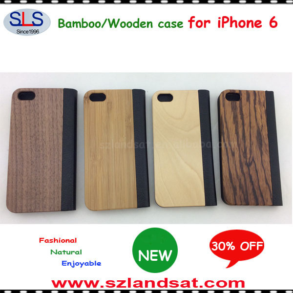 2016 New and Hot Sale PC and wood case for iphone 7 IPC368