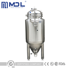50L Mini Homebrew Glycol Jacket Conical Beer Fermenter