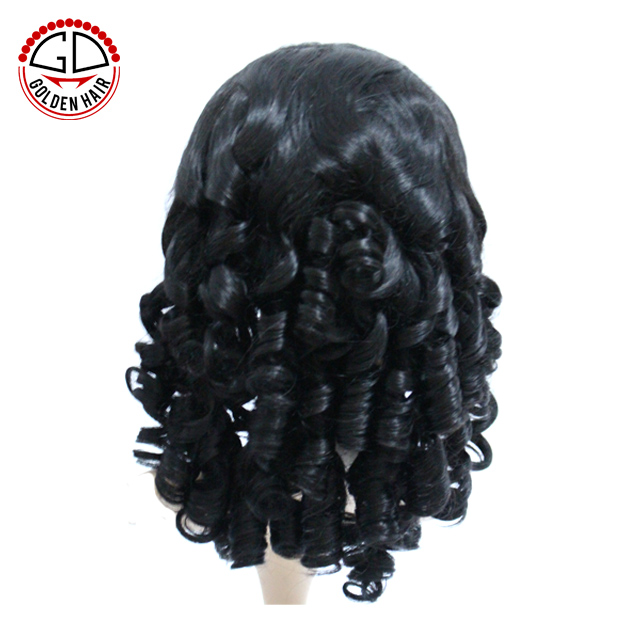 High Quality Thin Skin Perimeter Curl Full Lace Wigs For Black Women