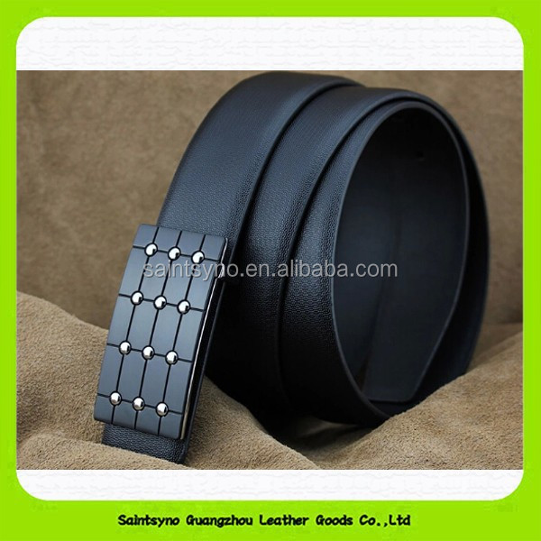 Wholesale Custom Full Grain Cow Hide Real Genuine Leather Jean Belt for Man 15193