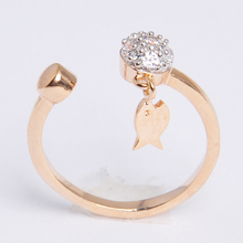 2016 New Wholesale Wedding Ring gold Plated Cut Diamond zircon Rings Women Finger Ring