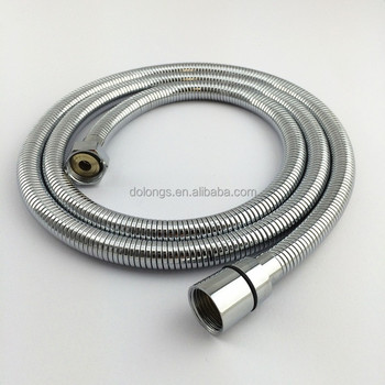 hot sale CE/ACS slim double lock stainless steel flexible extension shower hose