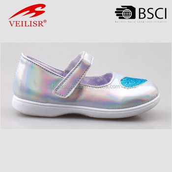 fashion cheap PVC injection girls school shoes