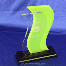 acrylic trophy design/acrylic award/trophy case