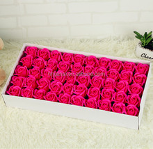 Artificial Gift Fresh Rose Soap Flower Looking Llike More Real Than Silk Fabricl flower