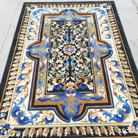 100% Wool Handmade Carpet Tile Rug For Home, Hotel, Mosque and Prayer
