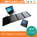 30W fodable solar charger for laptop